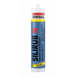 Soudal Silirub N 300ml Clear Silicone (Box qty 24)
