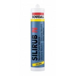 Soudal Silirub N 310ml Clear Silicone (Box qty 24)