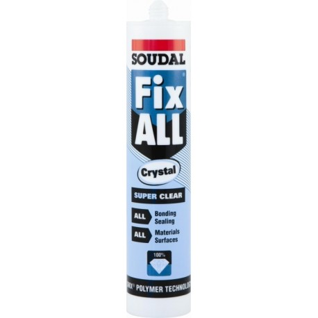 Fix All Crystal Clear Bond & Sealer (£ Box Qty  12)