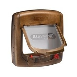 Staywell 917 Woodgrain Catflap