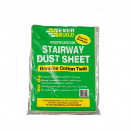 Everbuild Professional Stairway Dust Sheet
