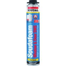 Soudal Gun Foam 750ml (Quantity 12 for £54.00)